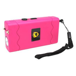 Guard Dog Disabler Stun Gun Pink Rubber Coat with LED Flashlight