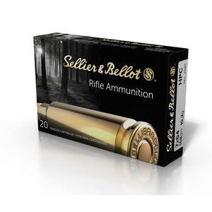 Sellier & Bellot 7x64mm Ammunition 20 Rounds HPC 158 Grain V331122U