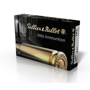 Sellier & Bellot 7x64mm Ammunition 20 Rounds HPC 158 Grain V331122U