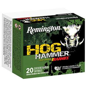 Remington Hog Hammer Copper 44 Magnum Ammunition 225 Grain Barnes XPB  Copper Hollow Point Bullet 1235 fps
