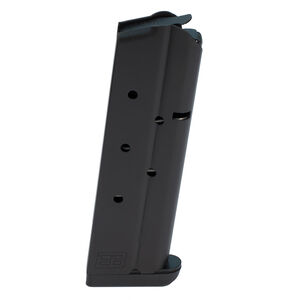 Ed Brown 1911 Full Size 9 Round Magazine 9mm Luger Stainless Steel Nitride Black Finish