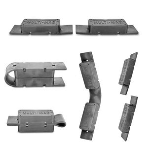 Gun Storage Solutions Multi-Mag Gun Magnet Two Pack MULTMAG2