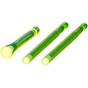 HiViz LITEWAVE Long Luminous LitePipe Kit Green/Green Fiber Optic