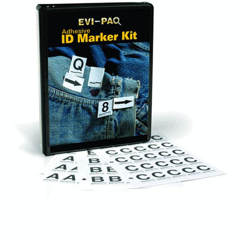 Armor Forensics Adhesive ID Marker Combo Kit
