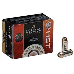 Federal Personal Defense HST 9mm Ammunition 20 Rounds JHP 124 Grain 1,150 Feet Per Second