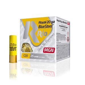 "RIO Ammo Royal BlueSteel Magnum 20 Gauge Shot Shells 250 Rounds 3"" 1 oz #4 Shot"