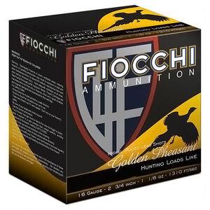 "Fiocchi 16 Gauge Ammunition 25 Rounds 2.75"" #5 Nickel Plated Lead Shot 1.125 oz.16GP5"