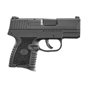 "FN 503 9mm Semi Auto Pistol 3.1"" Barrel 6 Round Polymer Frame Black Finish"