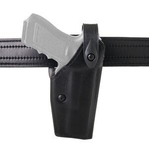 Safariland Model 6280 SLS Mid-Ride Duty Belt Holster Right Hand Fits USP 40C with GG&G Adapter and ITI Light SafariLaminate Hi-gloss Black