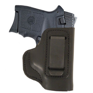 DeSantis Insider IWB Holster S&W Bodyguard 380 Right Hand Leather Black 031BAU7Z0
