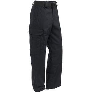 Elbeco ADU Ripstop EMT Men's Pants Size 44 Unhemmed Polyester Cotton Ripstop Midnight Navy