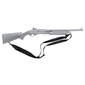 """Uncle Mike's Tactical Shotgun Sling with 1.25"""" Swivels Nylon Black 26993"""