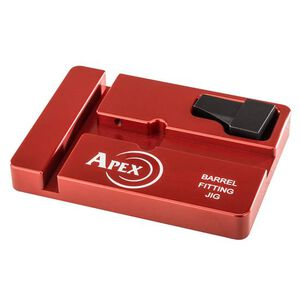 Apex Tactical Barrel Fitting Jig For S&W M&P/M&P M2.0 Barrel Billet Aluminum Red