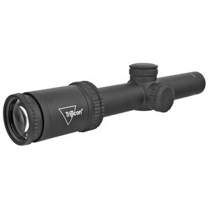 Trijicon Ascent 1-4x24mm SFP Tactical Rifle Scope with BDC Target Holds Reticle 30mm Tube 1/4 MOA Adjustment Black AT424-C-2800001