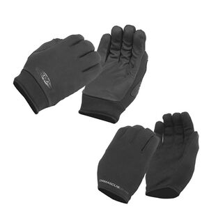 Damascus Worldwide Inc All-Weather Gloves 2 Pair Combo Pack Medium Black