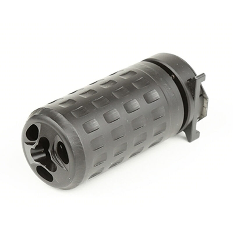 Griffin Armament QD Blast Shield Concussion Reducer 5.56/7.62 A2 Compatible 17-4PH Stainless Steel Black