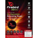 Ten Firebird USA 50BIO Targets Biodegradable Detonating Targets Package of 10 50BIO-PACK