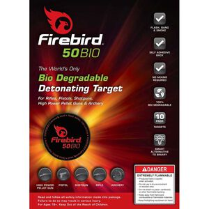 Ten Firebird USA 50BIO Targets Biodegradable Detonating Targets Package of 10 50BIO-PACK