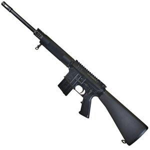 "Bushmaster Semi Automatic Carbine .450 Bushmaster 16"" Heavy Barrel 5 Rounds A2 Buttstock Flat Top Receiver Picatinny Rail Gas Block Black Anodized Finish 90425"