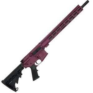"GLFA .223 Wylde Rifle .223 Wylde Semi-Auto Rifle 16"" Barrel 30 Rounds Flat Top Optics Ready Synthetic Black Stock Black Cherry Finish"