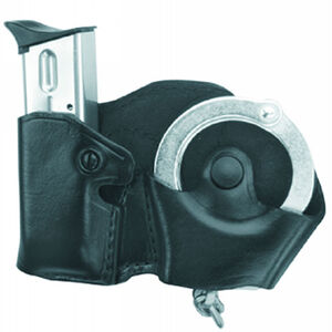 Gould & Goodrich Handcuff and Magazine Holder Case Right Handed Black Finish B841-1