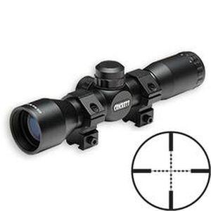 Keystone Sporting Arms 4x32mm Rimfire Riflescope Mi-Dot w/Rings Black KSA054