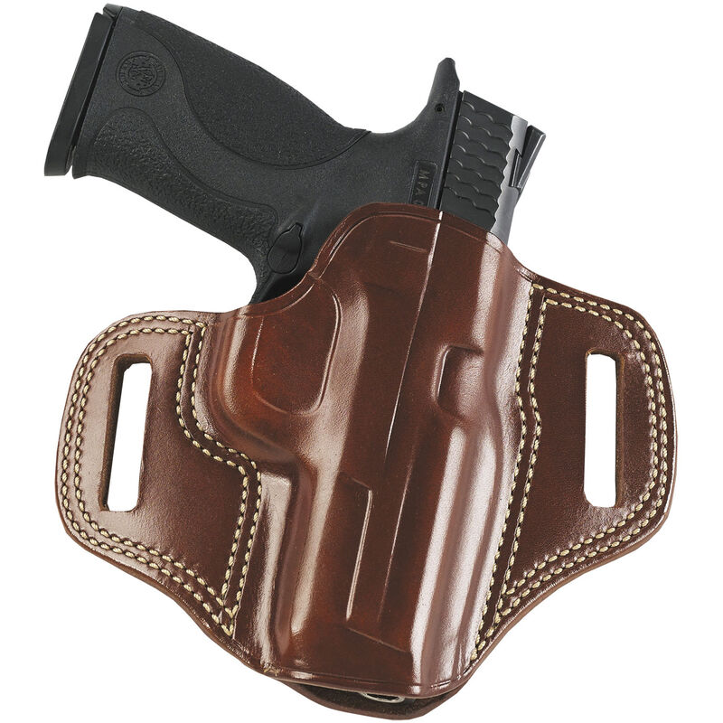 """Galco Combat Master 1911 4.25"""" Belt Holster Leather Right Hand Tan CM266"""