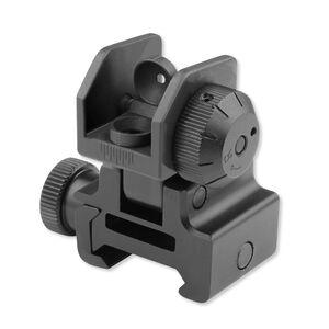 Leapers UTG AR-15 Flip-Up Rear Sight Aluminum Black MNT-951