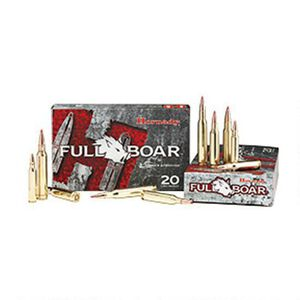 Hornady Full Boar 7mm Magnum Ammunition 20 Rounds GMX PTHP 139 Grains 80597