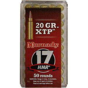 Hornady Varmint Express .17 HMR Ammunition 50 Rounds 20 Grain HP XTP Bullet 2375fps