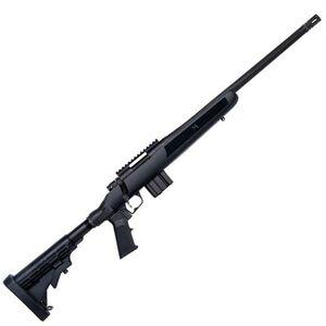 "Mossberg MVP Flex Bolt Action Rifle 5.56 NATO/.223 Remington 18.5"" Threaded Bull Barrel 10 Rounds Adjustable Stock Matte Blue Finish 27746"