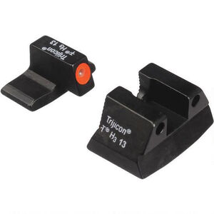 Trijicon H&K P2000 HD Night Sight Set Tritium Orange Steel HK109O
