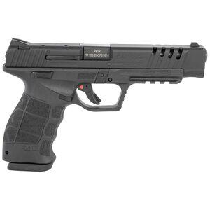 "Sarsilmaz USA SAR 9 Sport Semi Auto Pistol 9mm Luger 5.2"" Barrel 17 Rounds Fixed Sights Striker Fired Accessory Rail Polymer Frame Black Finish"