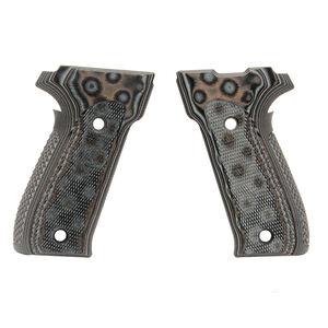 Hogue Extreme G-10 SIG Sauer P226 DAK Grips G-Mascus Black/Gray 26157-BLKGRY
