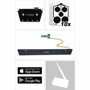TRAINSHOT Range Kit, BT Electronic Unit, Extension Bar and Ten Circle Targets TSUSA-0111