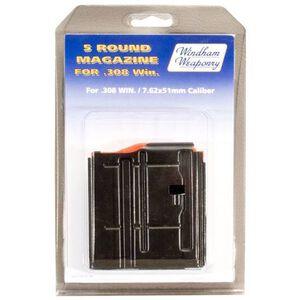Windham Weaponry .308 AR Magazine .308 Winchester/7.62 NATO 5 Rounds Steel Box Black Finish