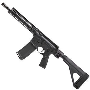 "Daniel Defense M4 V7 P AR-15 .300 AAC Blackout Semi Auto Pistol 10.3"" Barrel 32 Round Magazine DD MFR M-LOK Hand Guard SB-Tactical SOB Pistol Stabilizing Brace Black Finish"