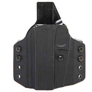 Uncle Mike's CCW Holster For Ruger SR 9/40 Compact OWB Right Hand Kydex Black