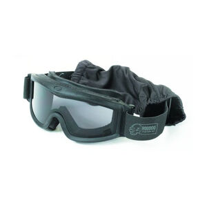 Voodoo Tactical Tactical Goggle Set With Three Lenses Black