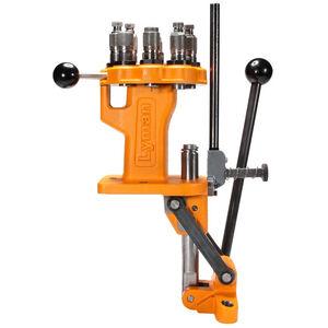 Lyman Brass Smith All-American 8 Turret Press Cast Iron Orange 7040750