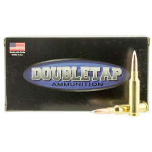 DoubleTap DT Longrange 6.5 Creedmoor Ammunition 20 Rounds 142 Grain Bonded Solid Base 2700fps