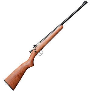 "Keystone Arms Crickett Gen 2 Bolt Action Rifle 22 WMR 16.5"" Barrel 1 Round Walnut Stock Blued"