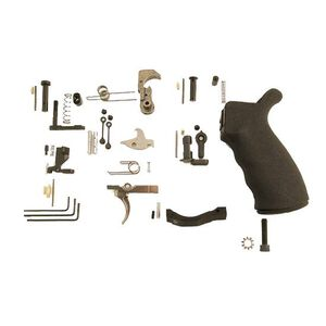 Spike's Tactical AR-15 Multi-Caliber Enhanced Lower Parts Kit Black Grip SLPK301