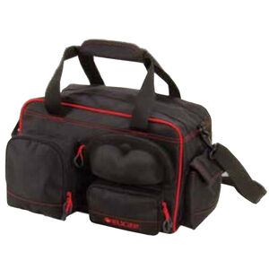 Allen Company Ruger Peoria Performance Range Bag 18.75x11.25x9.5 Inch Black and Red Trim