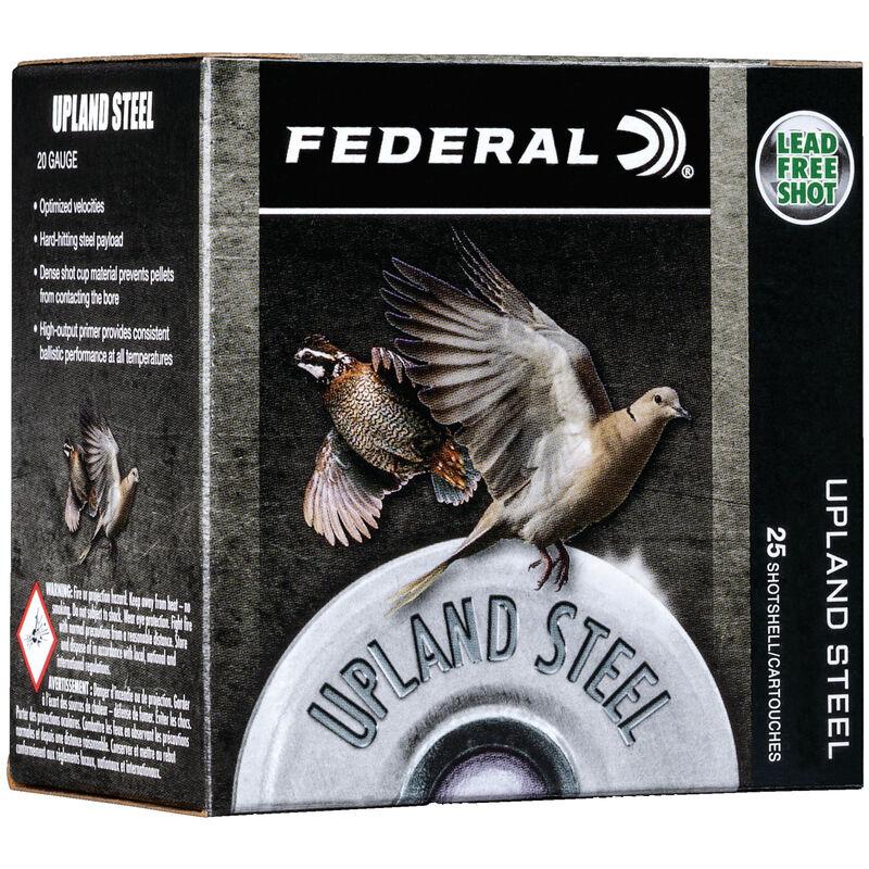 """Federal Upland Steel 28 Gauge Ammunition 2-3/4"""" #7.5 Steel Shot 5/8 Ounce 1350 fps"""