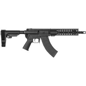 "CMMG Banshee 200 Mk47 7.62x39mm AR-15 Style Semi Auto Pistol 10"" Barrel 30 Rounds RML9 M-LOK Handguard CMMG Micro/CQB RipBrace Black Finish"