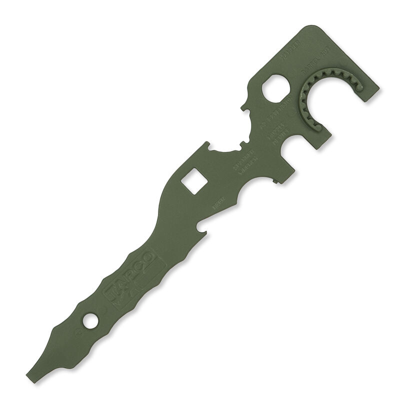 TAPCO AR-15 Armorer's Tool Steel Green TOOL0905