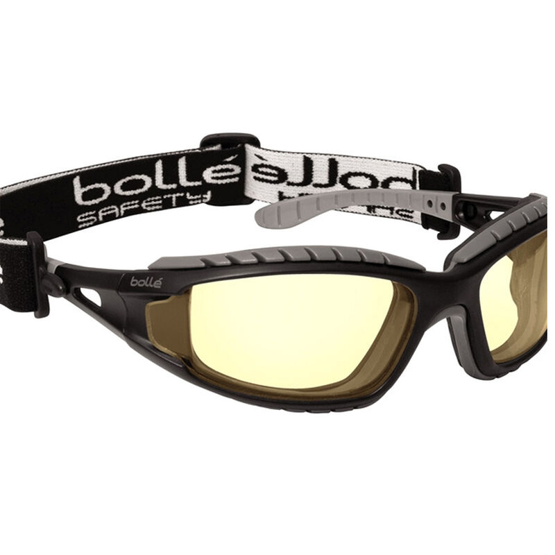 Bollé TRACKER Safety Glasses Yellow Lens 40087