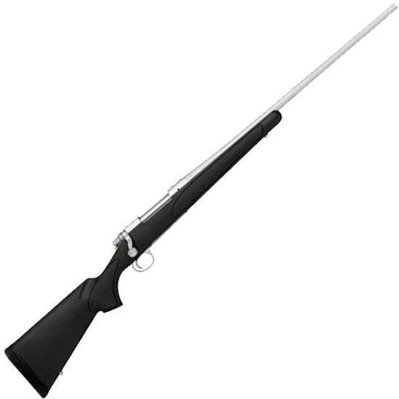 """Remington Model 700 SPS Stainless Bolt Action Rifle .270 Win 24"""" Barrel 4 Rounds Black Synthetic Stock Stainless Steel Finish 27267"""