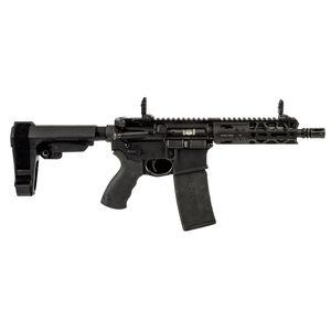 "Adams Arms P2 5.56 NATO Semi-Auto Pistol 7.5"" Barrel 30 Rounds Flip Up Sights SBA3 Pistol Brace Black Finish"